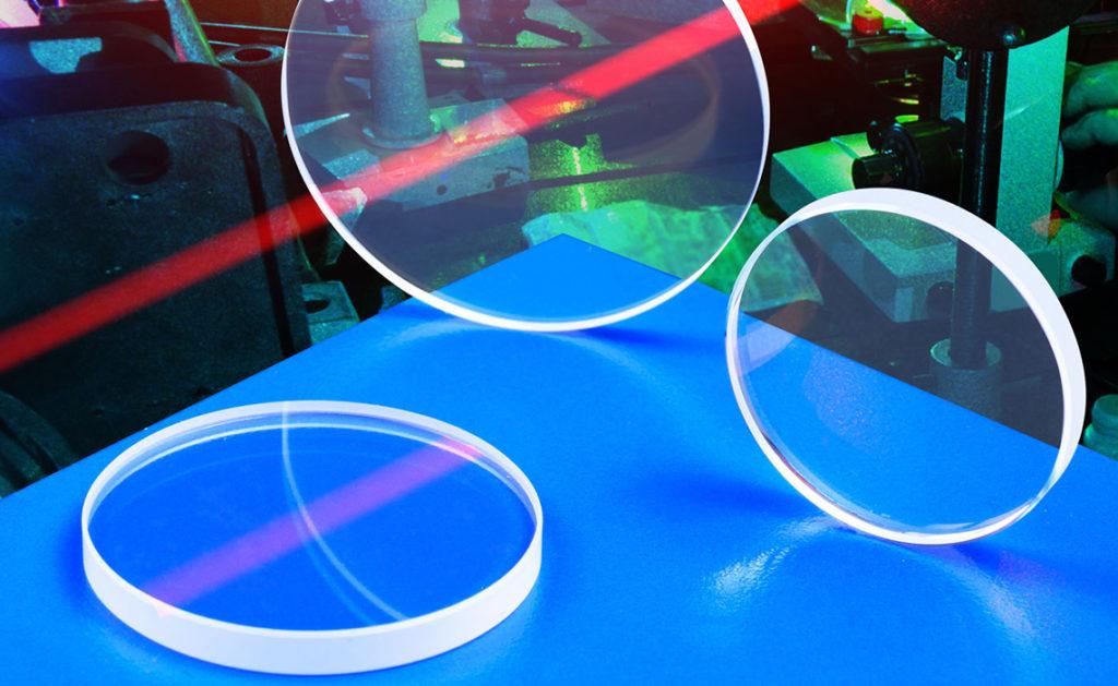 Fiber laser optics made in the USA
