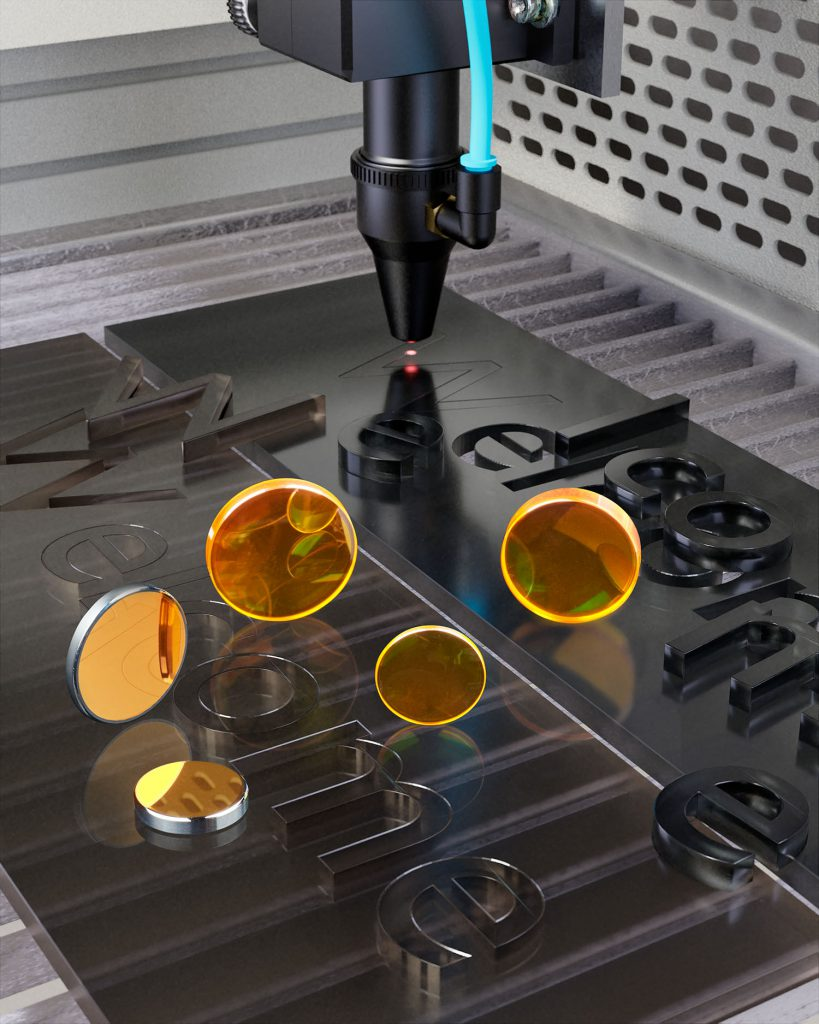 CO2 Lenses for cutting Acrylics