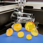 Rotary Etching Optics on Display
