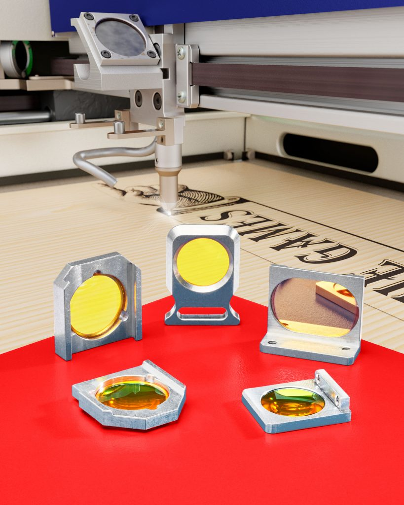 mounted CO2 lenses