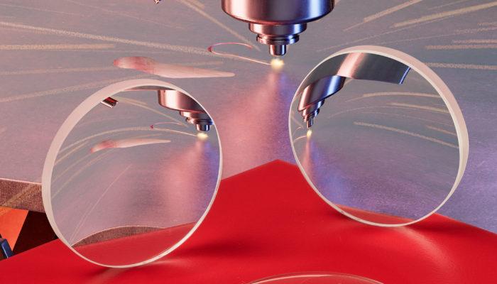 Fused Silica Fiber Laser Lenses