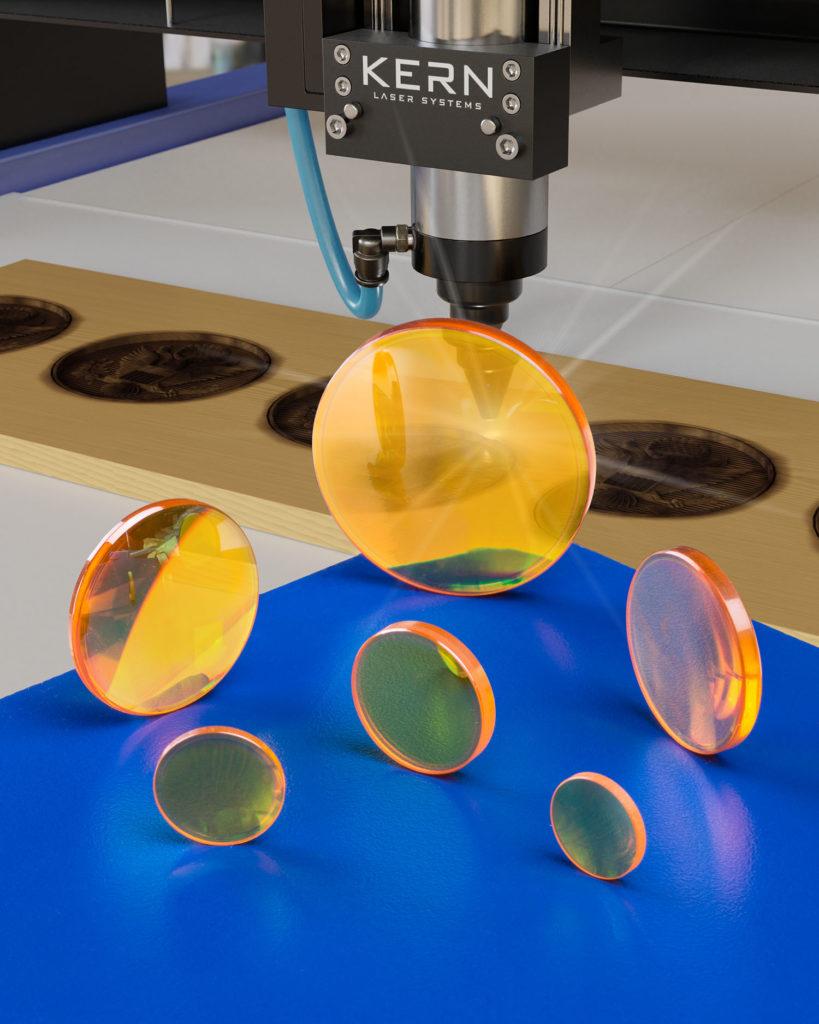 Wood engraving optics
