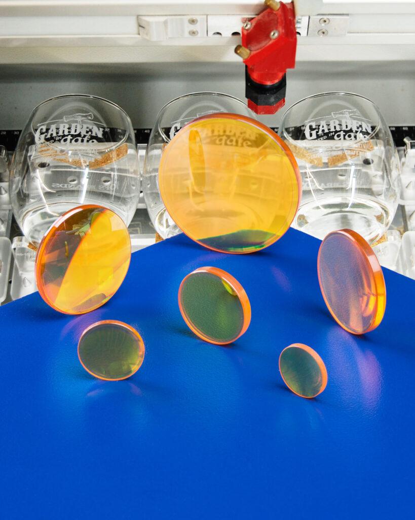 CO2 LASER LENSES FOR CRYSTAL & GLASS ENGRAVING