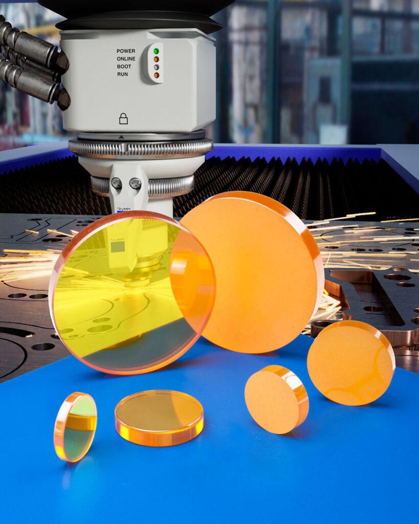 High Powered Steel Cutting Optics